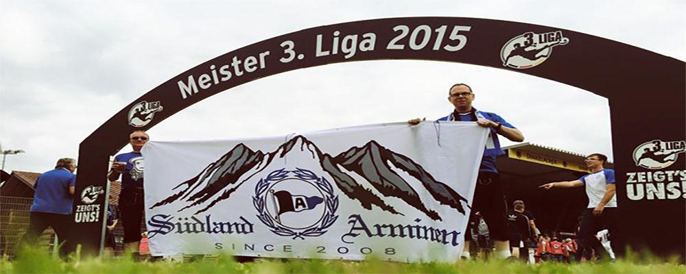 Arminia Fans in Süddeutschland, Österreich und der Schweiz